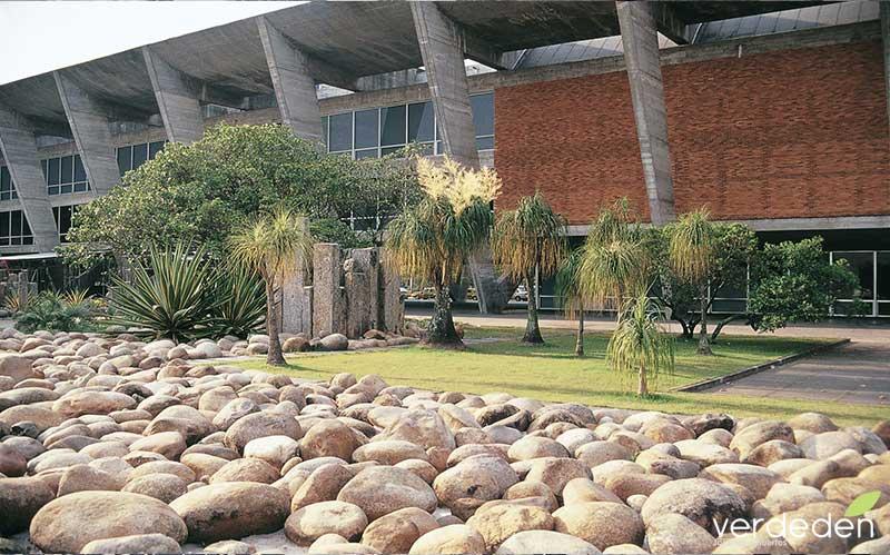 Jardines del Museo de arte contemporáneo_ Rio de Janeiro