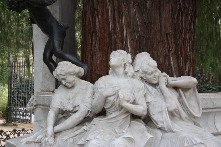 Glorieta de Becquer, parque de Maria Luisa de Sevilla