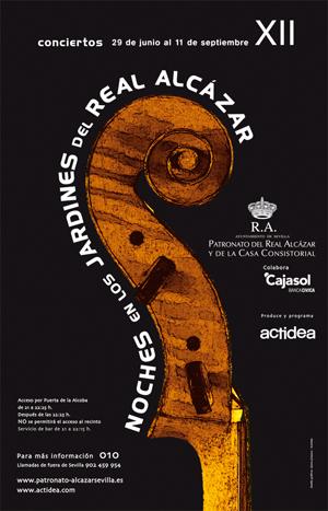 Cartel 2011, Noches en los Jardines de los Reales Alcázares