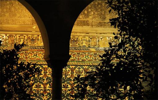 Arcos en el Alcazar de Sevilla