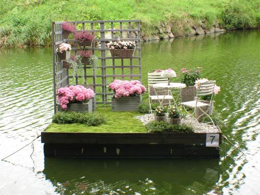 Jardines flotantes en Suecia