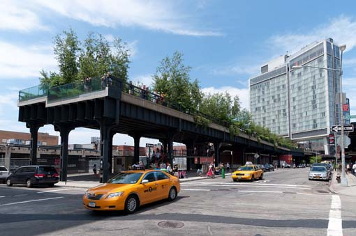 High Line, Southern End