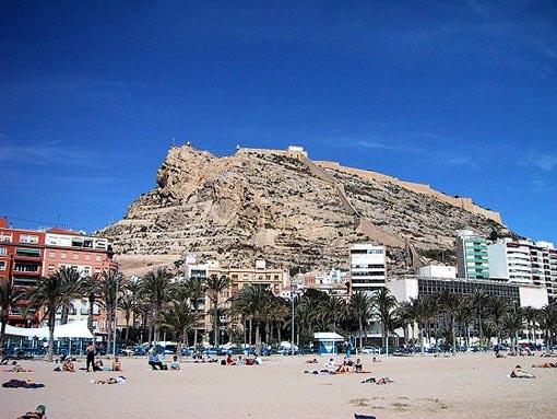 Alicante, Castillo de Santa Barbara