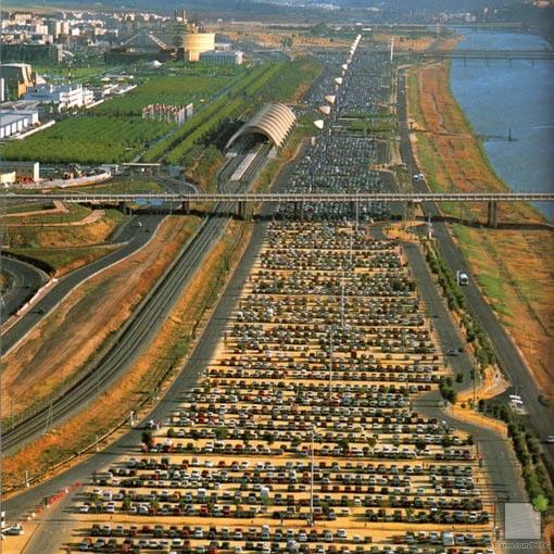 Bancada del Rio: aparcamiento expo