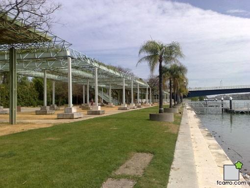 Pergolas Expo92, reutilizadas en el mismo recinto