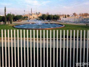 20 años del paisajismo de EXPO 92 (II): Mobiliario urbano