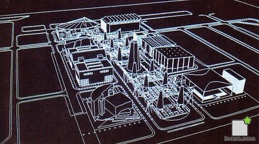 Avenida Europa, esquema 3D