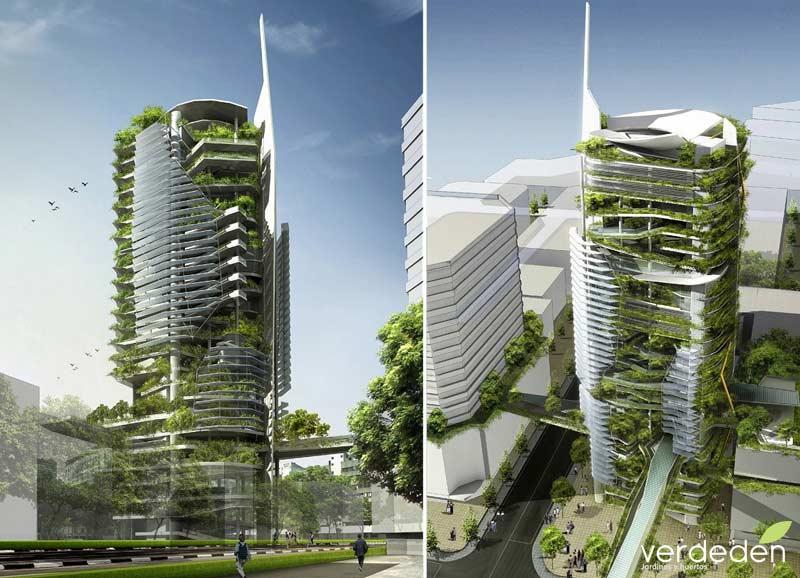 editt tower para singapur