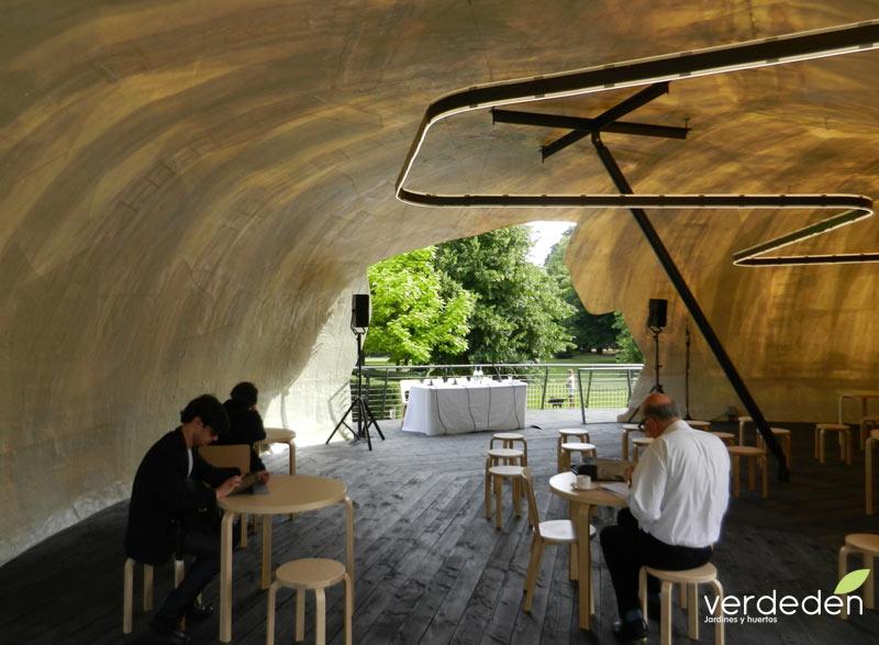 Serpentine gallery pavilion 2014 interior
