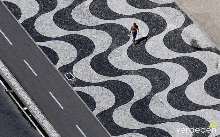 Burle-Marx:: paisajista del Rio olímpico: Pavimento paseo de Copacabana
