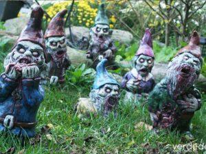 Gnomos zombies… de jardín
