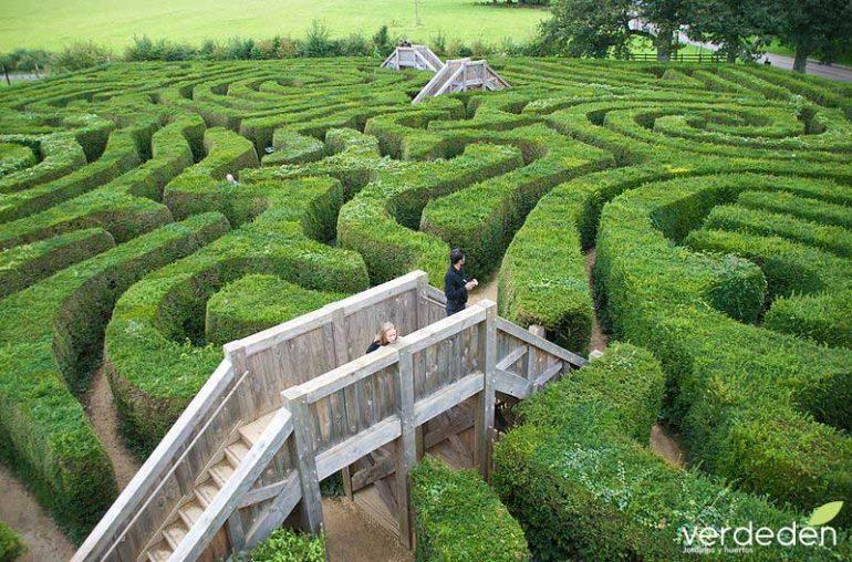 Laberinto en el jardín: laberinto de Longleat Maze