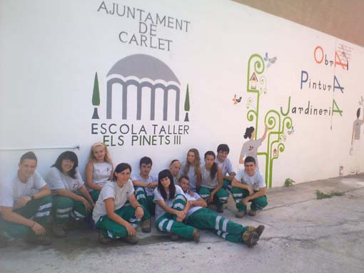 Cuaderno de Campo Escuela taller de Carlet, Valencia