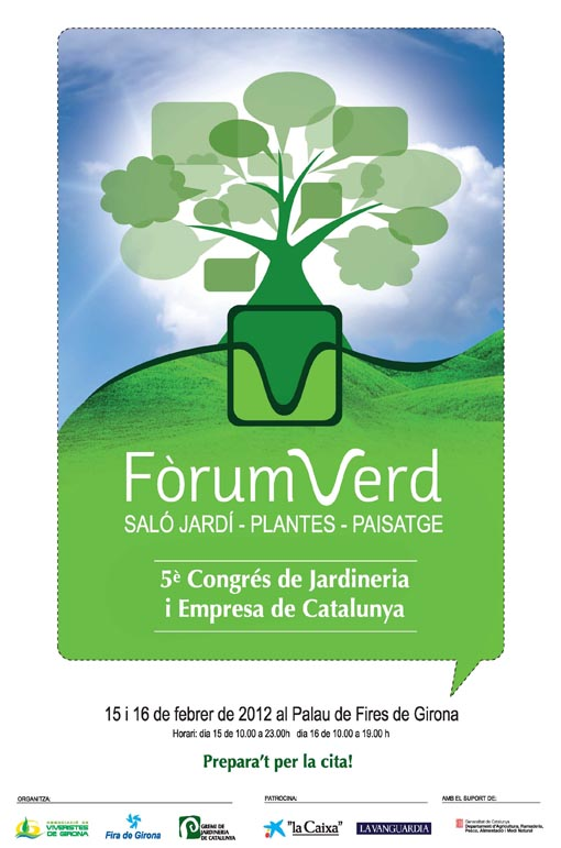 Cartel Forum Verd 2012